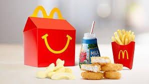 One of McDonald's Happy Meals
