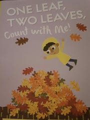 """Author John Micklos Jr. of Newark will read part of his new book, """"One Leaf, Two Leaves, Count with Me!"""" on Saturday at 10 a.m."""