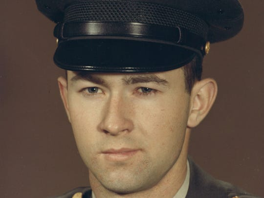 Army Pfc. Larry R. Foster, a 1967 graduate of North