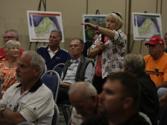 Members of the public weighed in during October as debate heated up over the prospect of the City of Oshkosh selling a portion of Lakeshore Municipal Golf course to Oshkosh Corp. for a new headquarters.