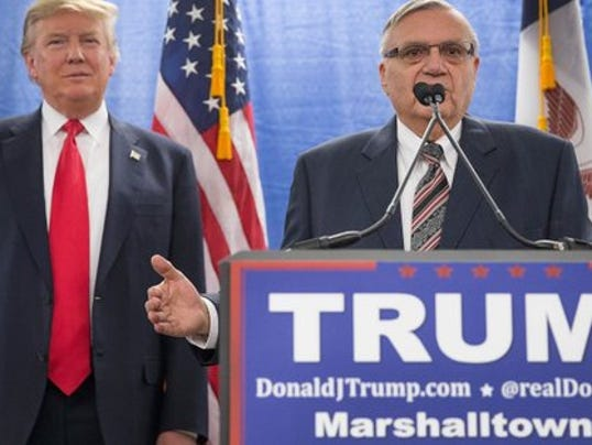 Arpaio enters Senate race. No, reallyl