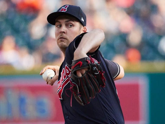 June 8: Trevor Bauer, Indians, 12 at Tigers.