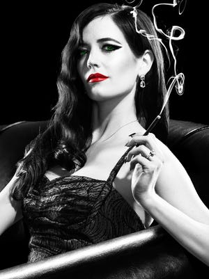 "Eva Green plays a femme fatale in ""Sin City: A Dame to Kill For."""