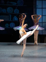 "The Russian Ballet perform ""Cinderella"" at the Strand."