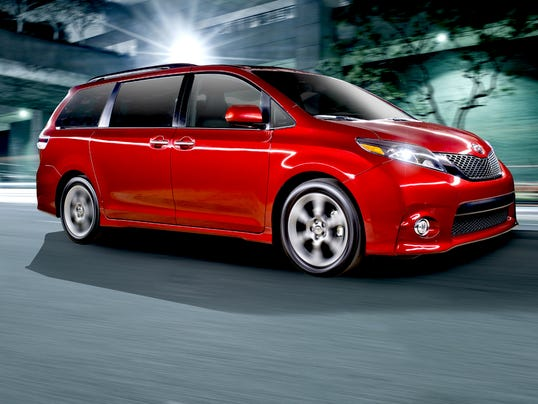 2015 Sienna USA Today