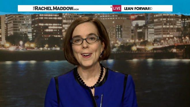 Screen grad from Rachel Maddow show