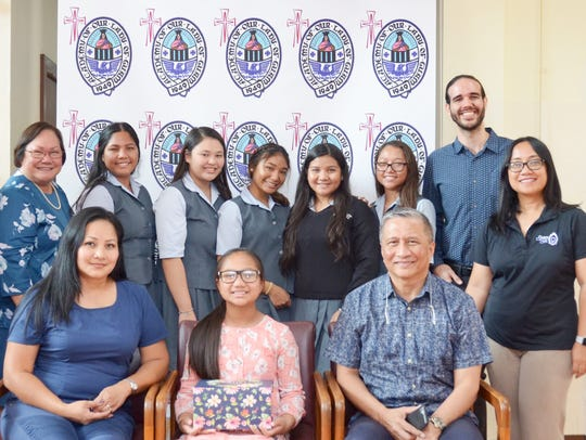 Academy of Our Lady of Guam students recently presented