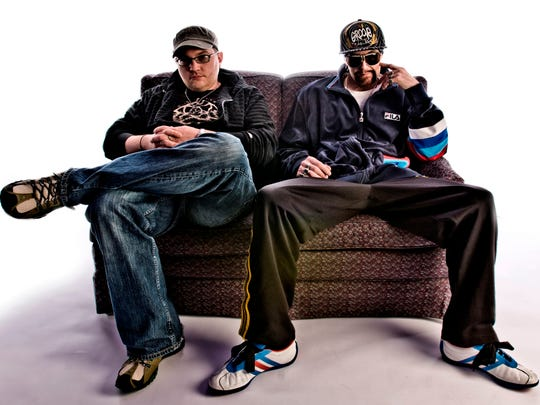 BoomBox, the electronic duo of Russ Randolph and Zion Rock Godchaux, will perform at 9 p.m. Wednesday at The Haunt.