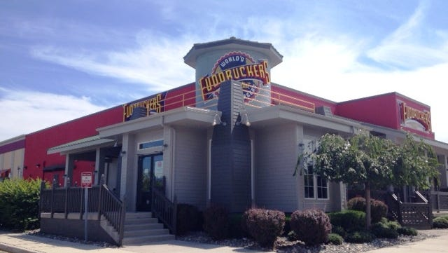 Renovations at Fuddruckers are not yet complete, according to a company spokeswoman. No opening date is et.