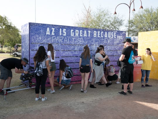 Everyone has their reasons during the Lost Lake Festival