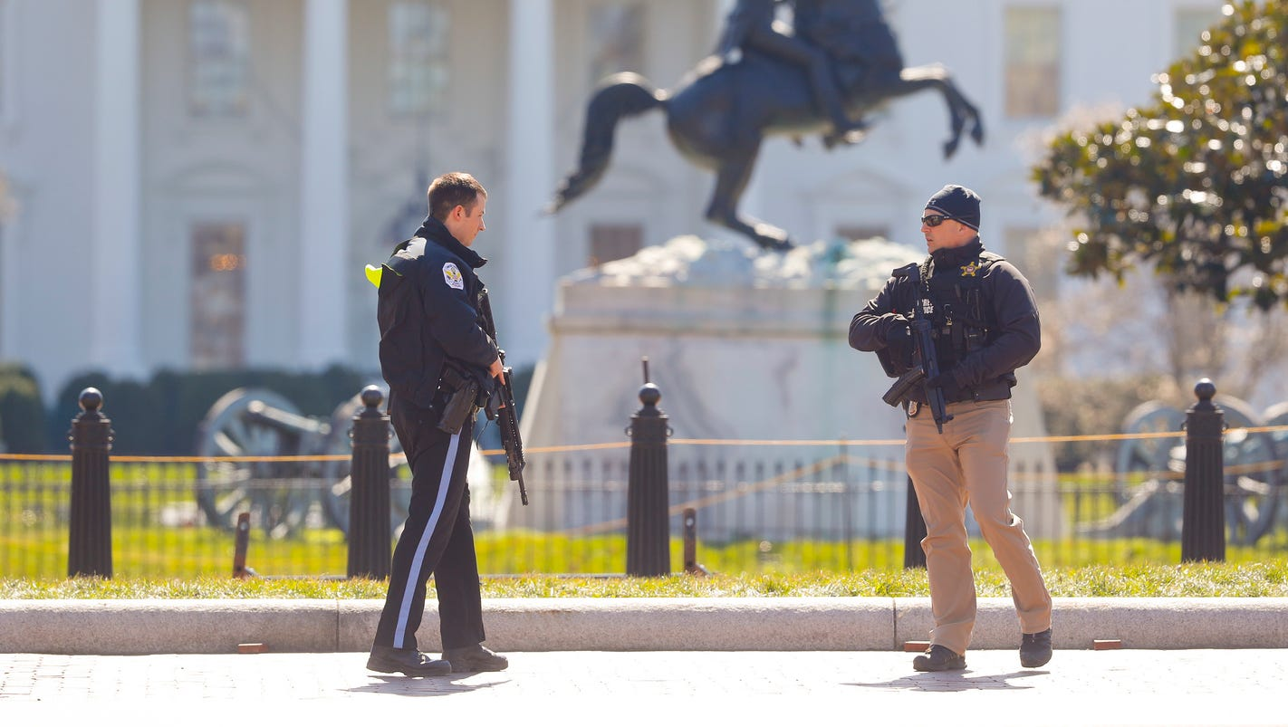 Man fatally shot himself in the head outside White House, police say