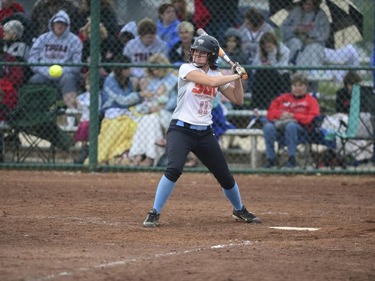 South Gibson's Aly Walker was The Jackson Sun's 2015 Softball Hitter of the Year.
