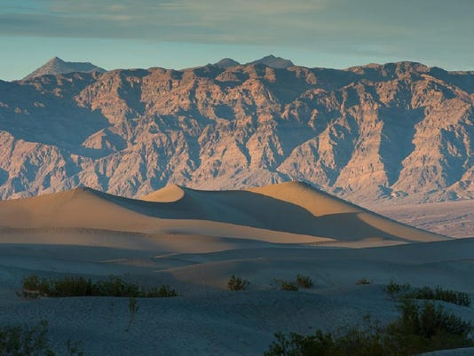 Death Valley Dunes Sunset (2) courtesy Furnace Creek Inn