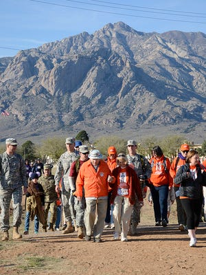 A panoramic view of the 2015 Bataan Memorial Death March.