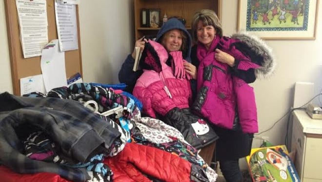 A local woman Connie Wallace donated 14 coats to the St. Francis Shelter for families as part of the Statesman Journal's Catalog of Giving.