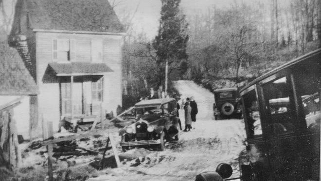 Nelson Rehmeyer's farmhouse, scene of the Hex Murder of 1928.