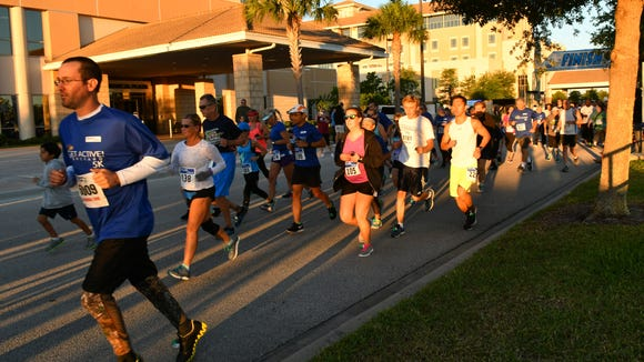 Health First hosted an event at the Viera Hospital location that included the Get Active! Brevard 5k, CPR training , Stop the Bleed training, and awards for the Mayor's Fitness Challenge, which was won by the City of Cape Canaveral.