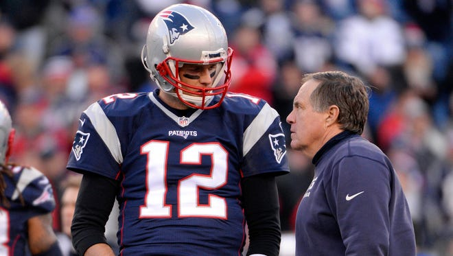 Patriots QB Tom Brady  and coach Bill Belichick are in their 17th season together.