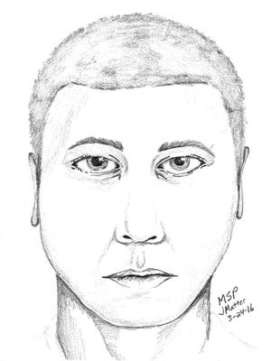Police are looking for information about a man who allegedly robbed a St. Clair woman on her front porch Tuesday,  March 22, 2016.