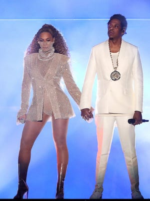 Jay-Z and Beyonce will perform at State Farm Stadium in Glendale on Wednesday, Sept. 19, 2018.