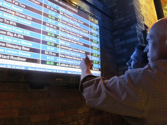 The beer pricing structure is modeled after the stock