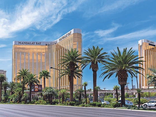 View of Mandalay Bay Resort and Casino hotel