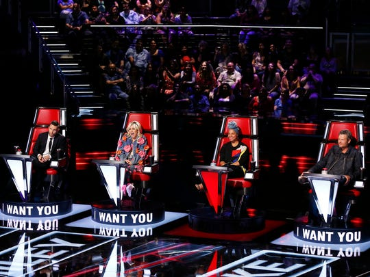 """Blind Season 11 of ""The Voice"" features a new slate of coaches: Adam Levine, Miley Cyrus, Alicia Keys and Blake Shelton. Central Jersey is again in the house with three contestants on teams."