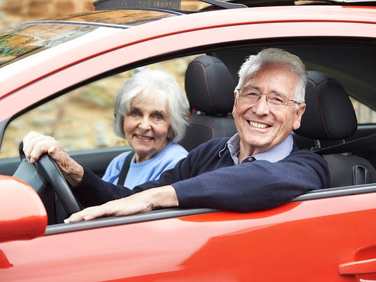 """Don't you want your in-laws to fully embrace this most precious chapter in the story of their lives?"" (Stock image of older couple)"