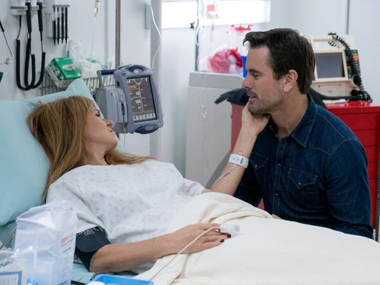 Connie Britton and Charles Esten in the February 23