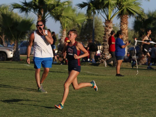 09/20/17 Taya Gray, Special to The Desert SunXavier Prep High School hosted the first DVL cross country meet in Palm Desert on Wednesday, September 20, 2017.