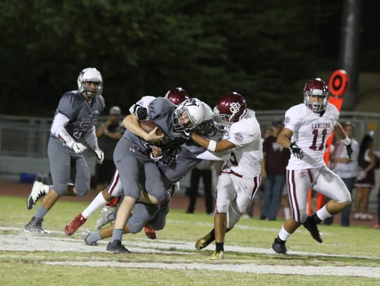 Rancho Mirage High School hosted Bell Gardens in a