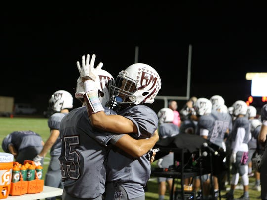 Rancho Mirage hosted Desert Mirage in a conference game on their homecoming night in Rancho Mirage on Friday, October 27, 2017.