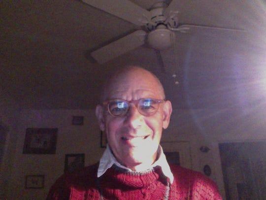 Michael Berg at home in Norfolk, Virginia last week.