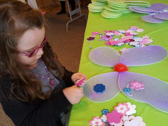 The Falls Fairy Fest will take place from 1 to 5 p.m. Saturday at the downtown Kell House Museum. There will be many fun-filled fairy inspired activities for children including making fairy wings.