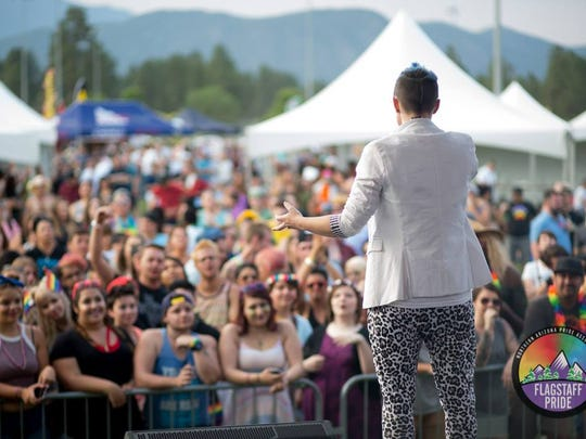 Live music is a big part of the fun at Pride in the