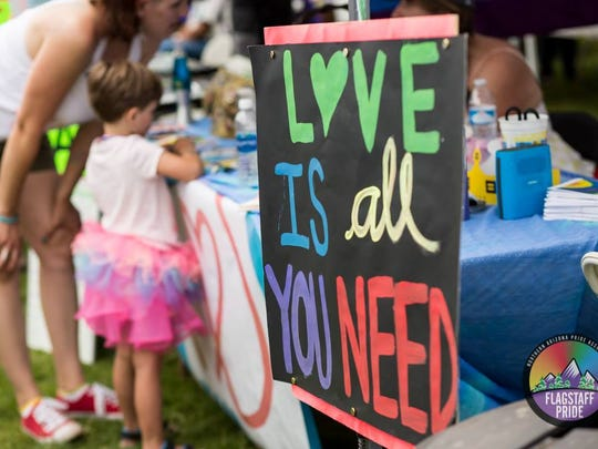 Flagstaff Pride in the Pines is a family-friendly celebration.