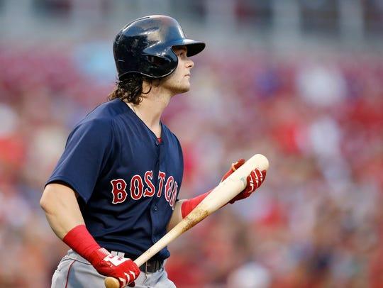Cincinnati native, Boston Red Sox left fielder Andrew