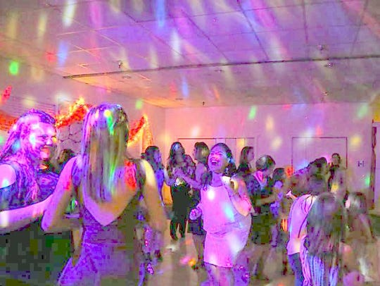The annual family dance seemed to delight evey generation.