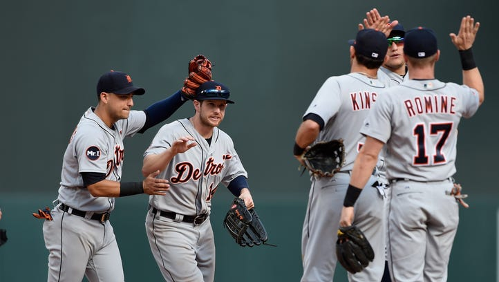 Tigers hit with vengeance, take series from Twins