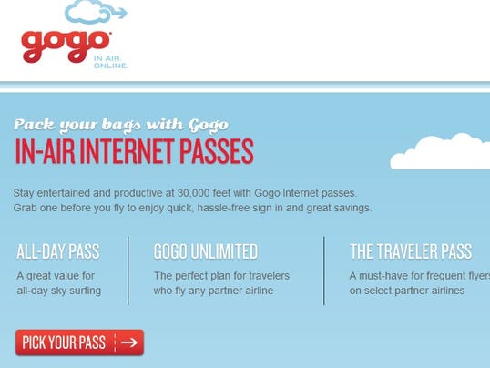 Monthly internet access on all domestic and international Gogo equipped flights on Delta Air Lines. See details.