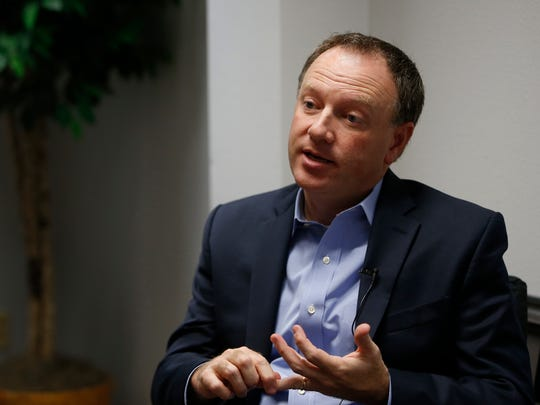 Michael Happe, Winnebago Industries president and CEO,