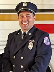 Harrisburg Bureau of Fire Lt. Dennis DeVoe, of Stewartstown,