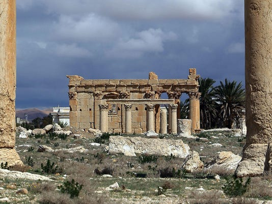 SYRIA-CONFLICT-PALMYRA-ARCHAEOLOGY-FILES