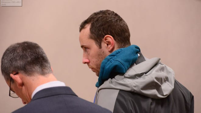 Former Howard Center employee Robert Trepanier, 30, pleads not guilty to a single charge of sexual assault on Dec. 31.