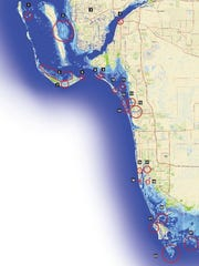 How Southwest Florida areas will be affected by sea level rise.