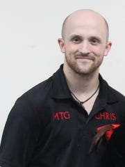 Chris Grover was killed by a gunshot wound to the head.