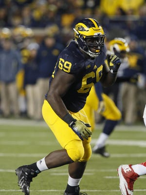 Willie Henry was selected for an All-Big Ten honorable mention after making 34 tackles, 10 for loss, and 6 1/2 sacks in 2015.