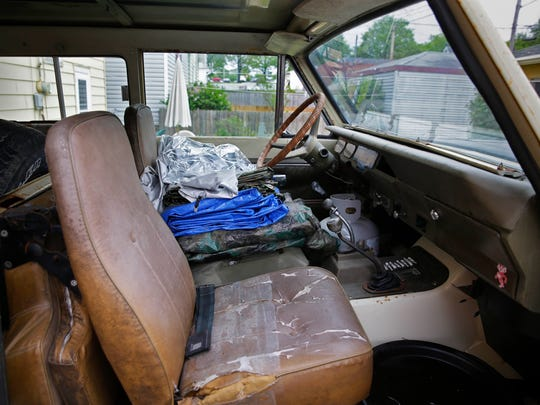 Edward F. Rozich, an 86 year-old homeless veteran, died in Jason Henn's 1977 International Harvester Scout while the vehicle was being stored at a Bay View mechanic's lot.