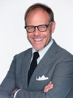 While on tour, Food Network star Alton Brown relies
