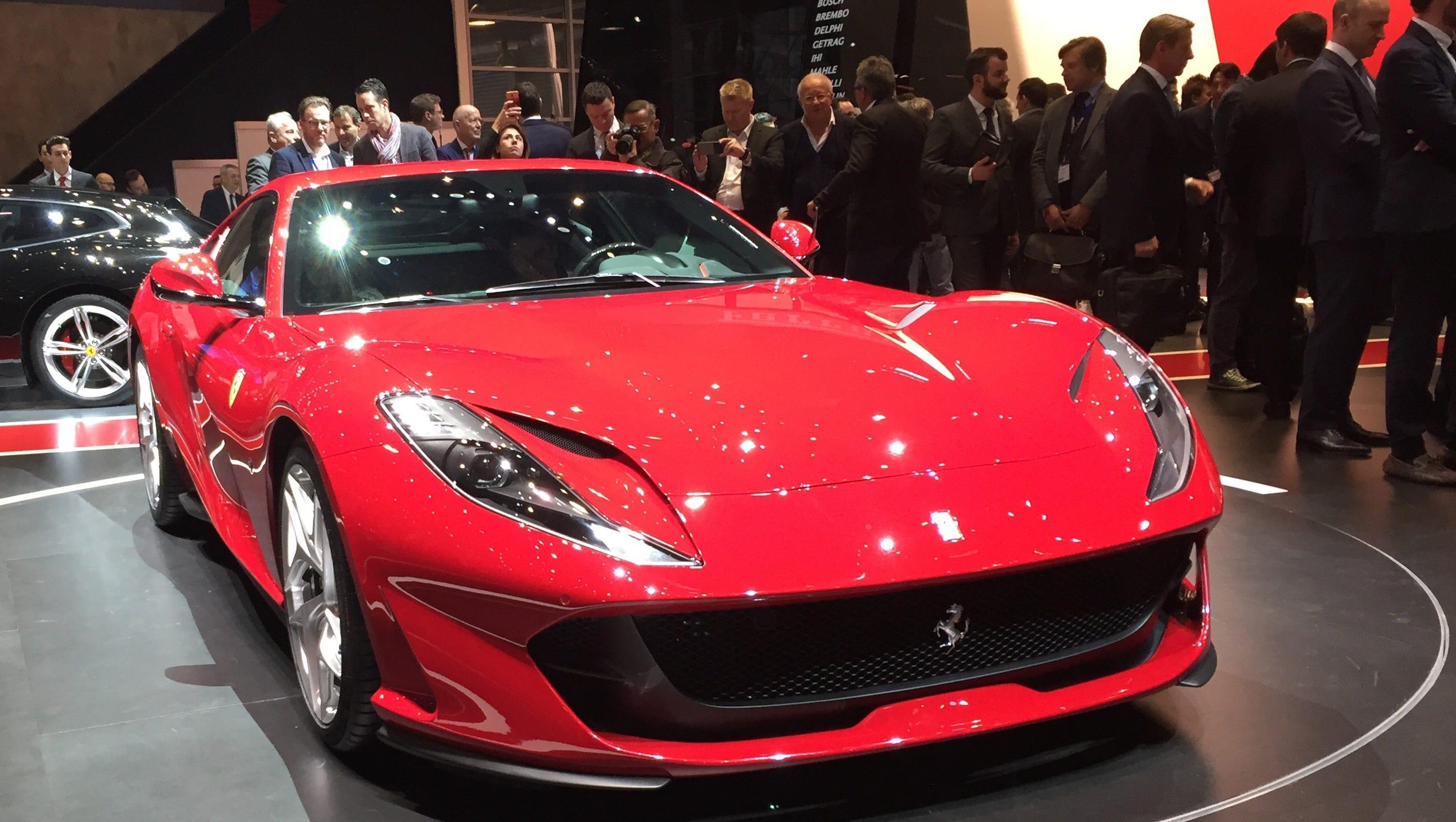At 790 horsepower Ferrari s 812 Superfast is a beast